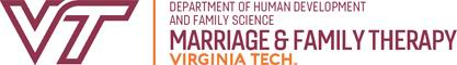 Virginia Tech Marriage and Family Therapy Doctoral Program Logo